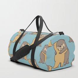 Otter Hugs Duffle Bag