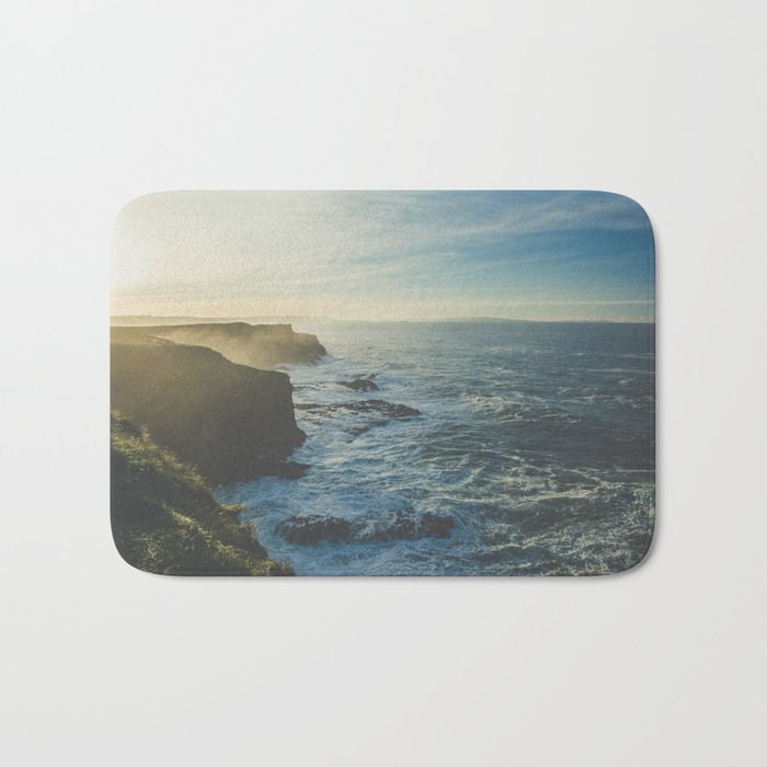 I Will Come Back But First... // Landscape // Edge of Cliff Photography #society6 #art #prints Bath Mat