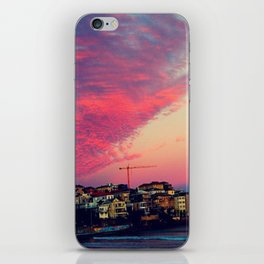 Bondi Beach Australia sunset iPhone Skin