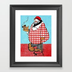 Cartoon comics 5 Framed Art Print