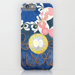 "Hilma af Klint ""The Ten Largest, No. 01, Childhood, Group IV"" iPhone Case"