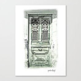 Door in Tbilisi IV Canvas Print