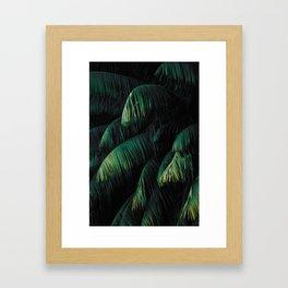 Botanical Leafs Framed Art Print
