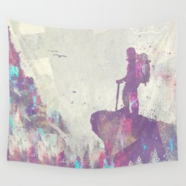 Explorers I Wall Tapestry