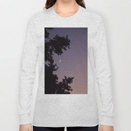 Smile Moon Long Sleeve T-shirt