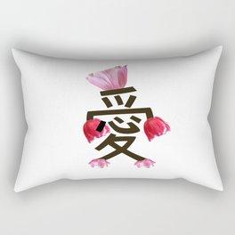 love cheer Rectangular Pillow