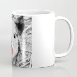 BW splash sweet piglet Coffee Mug