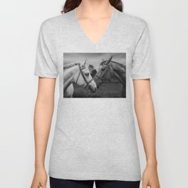 Horses of Instagram II Unisex V-Neck