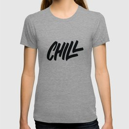 Chill Lettering T-shirt