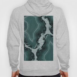 Teal Agate Pattern #1 #gem #decor #art #society6 Hoody