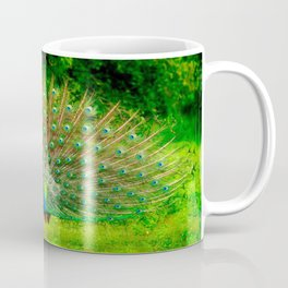 Srilankan Peacock Coffee Mug