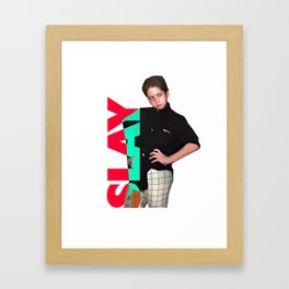 Brendan Jordan SLAY Framed Art Print