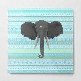 Elefant Metal Print