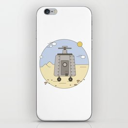 Pepelats. Russian science fiction. iPhone Skin