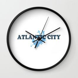 Atlantic City - New Jersey. Wall Clock