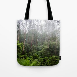 Forest and Fog Tote Bag