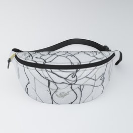 """Embroidery art """"Motion"""" printed/ Gay art Fanny Pack"""