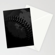Baseball Illusion Stationery Cards