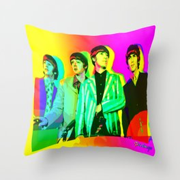 Moptops pOp '68  Throw Pillow