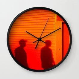 Dusk - Venice Beach Wall Clock