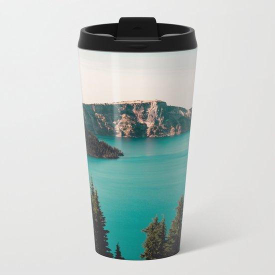 Dreamy Lake Metal Travel Mug