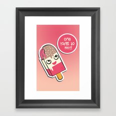 SO HOT! Framed Art Print