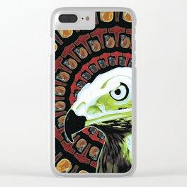 Veðrfölnir Clear iPhone Case
