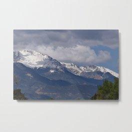 Pikes Peak, CO Metal Print