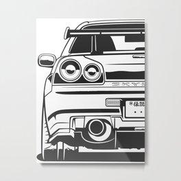 R34 Metal Print