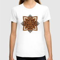 art deco T-shirts featuring Art Deco Brooch by Lyle Hatch