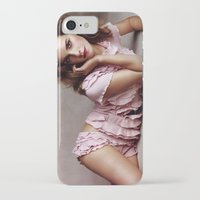 emma watson iPhone & iPod Cases featuring Emma Watson by Susan Lewis
