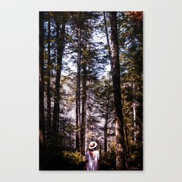 Getting lost... Canvas Print