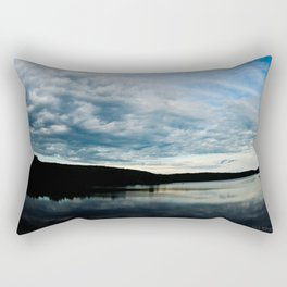 Fish-Eye Clouds 2 Rectangular Pillow