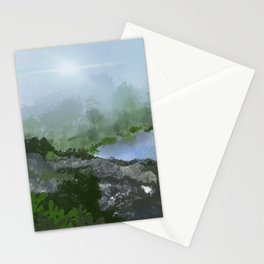 Dawn's Light Breaking Stationery Cards