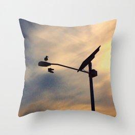 Shoe Bird Throw Pillow