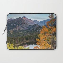 Bear Lake Autumn Sunset Rocky Mountain National Park Colorado Laptop Sleeve