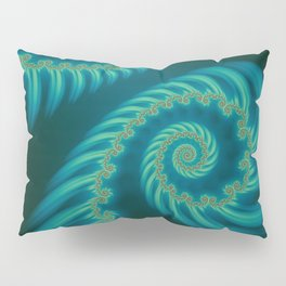 Entering the Vortex - Fractal Art Pillow Sham