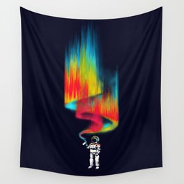Space vandal Wall Tapestry