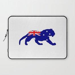 Australian Flag - Tiger Laptop Sleeve