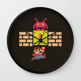 Wrong Role Wall Clock