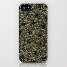 ARTiSTiC camo iPhone Case