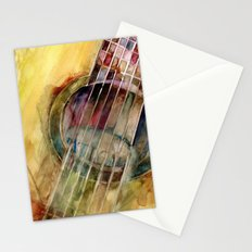 Ovation Acoustic Guitar Stationery Cards