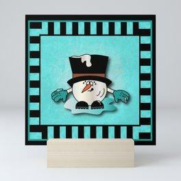 Snowball Guy One Mini Art Print