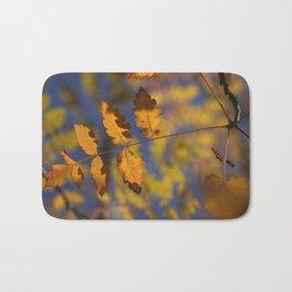 """""""Golden leaves"""" Bath Mat"""