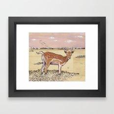 Bam Bi Framed Art Print