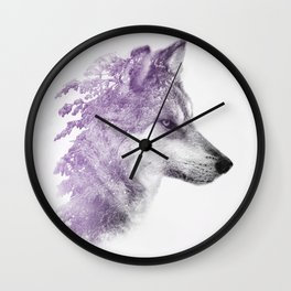 King of forest Wall Clock