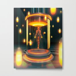 Project Ember Metal Print