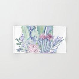 Desert Love Cactus + Succulents Hand & Bath Towel