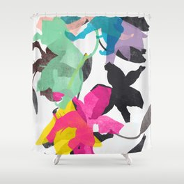 lily 1 Shower Curtain