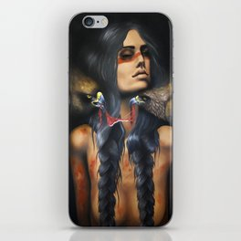 Running Eagle iPhone Skin